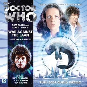 War Against the Laan signed by Tom Baker